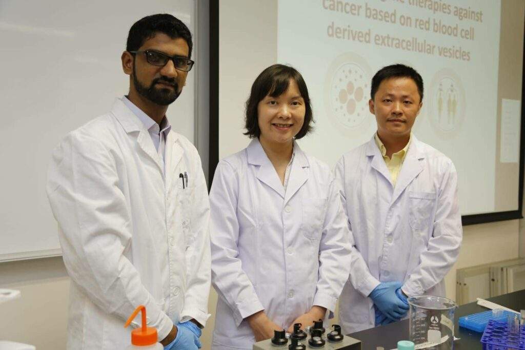 Dr Hingoro with his team of international researcher