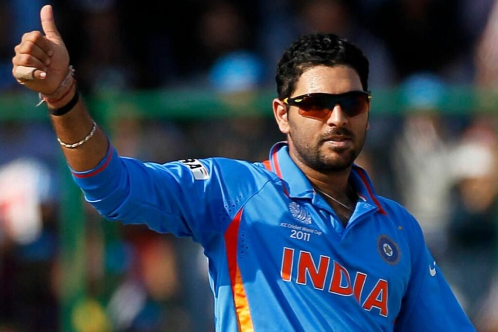 The famous Indian Cricketer, Yuvraj Singh, was diagnosed with stage one lung cancer