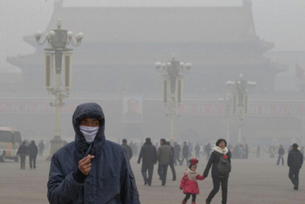 A great effect of high emissions is the declining air quality in major cities of the world, like Beijing and New Delhi.