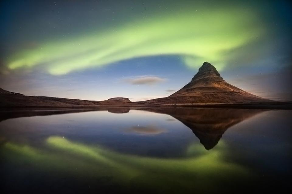 "This Northern Lights picture is the Grand Jury Winner titled ""Eruption of the Light"". The image was taken by Petersvoboda."