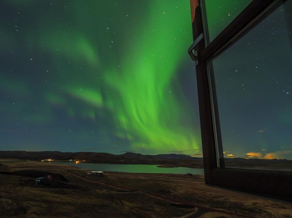 Iceland also has its fair share of Northern Lights views. Photo by Angie Aird